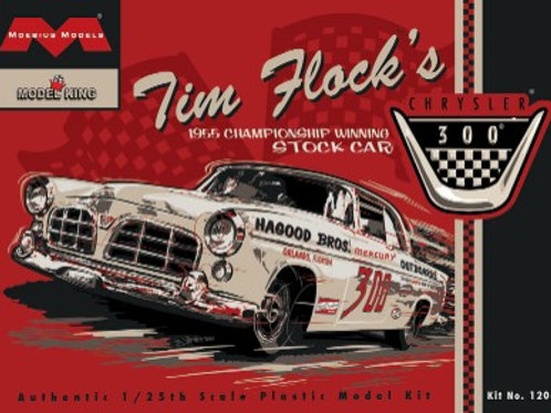 Mobius Tim Flock's 1956 Chrysler 300 Stock Car