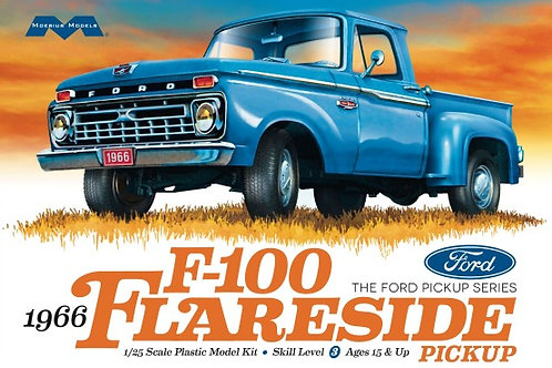 Moebius 1966 Ford F100 Flareside Pickup