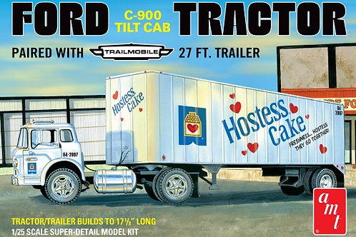 AMT Ford C800 & Trailer w/ Hostess Cakes Livery