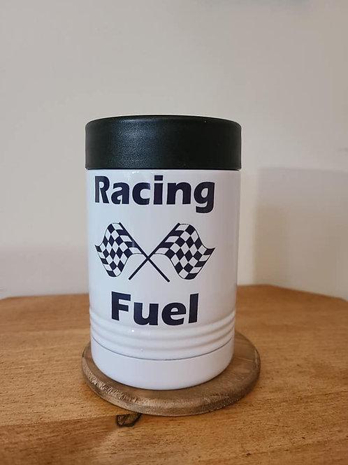 Racing Fuel Metal Can Coozie