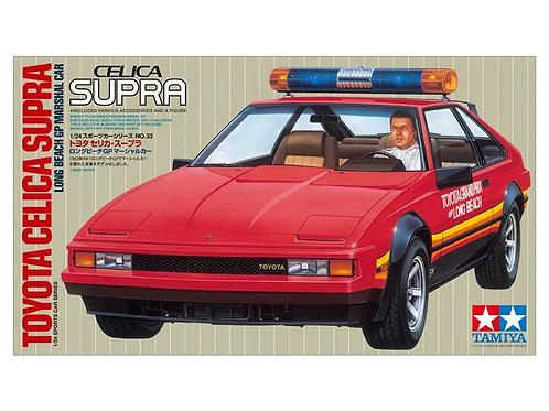 Tamiya 1982 Toyota Supra Turbo L. Beach G.P. Pace Car