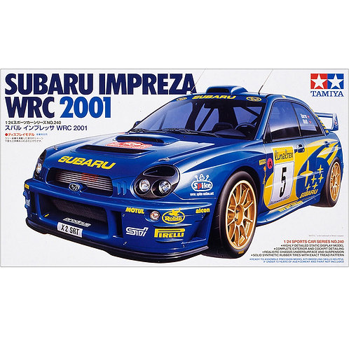 Tamiya 2001 Subaru Impreza WRX World Rally Championship car