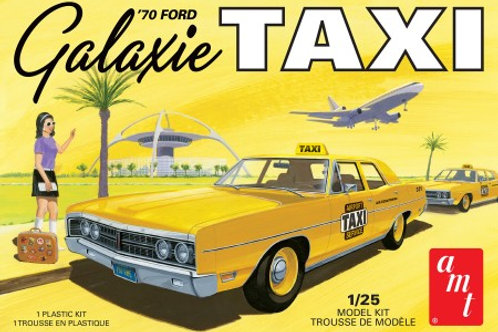 AMT 1970 Ford Galaxie Taxi