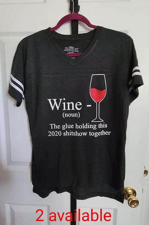 Red Wine T-shirt, Medium
