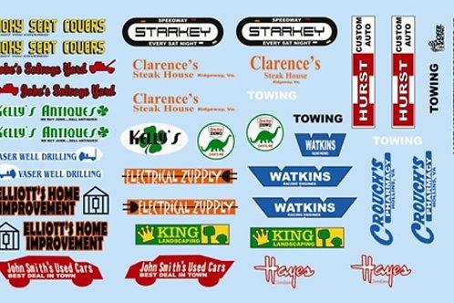 Gofer Racing Hometown Sponsor Logos #2