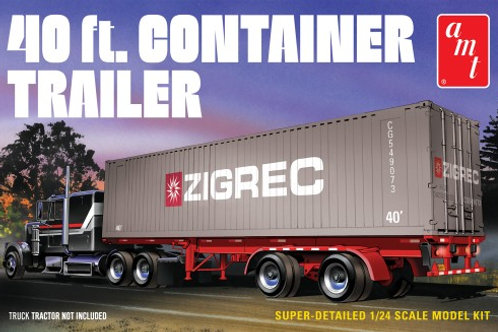 1/24 40' Container Trailer