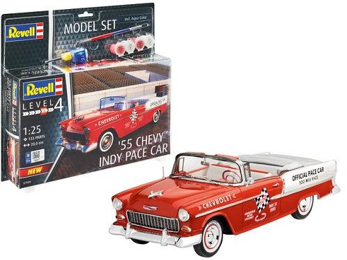 Revell 1955 Chevrolet Belair Indy 500 Pace Car w/Paint Set