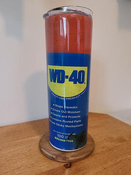 20oz WD40 Skinny Tumbler