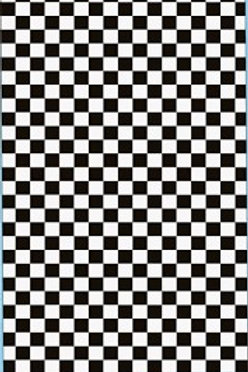 Gofer Racing Checkerboard Decal