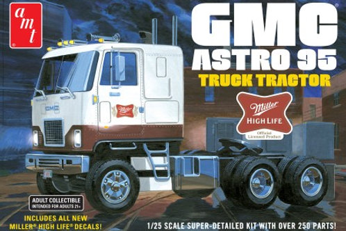 AMT Miller Beer GMC Astro 95 Cabover