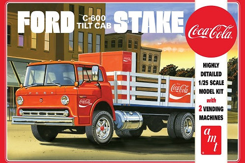 AMT Ford C600 Stake Bed (Coca-Cola Edition)