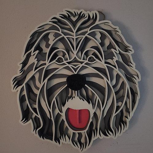 Old English Sheepdog Wall Art