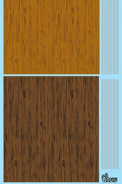 Gofer Racing Wood Grain and Bed Stripes