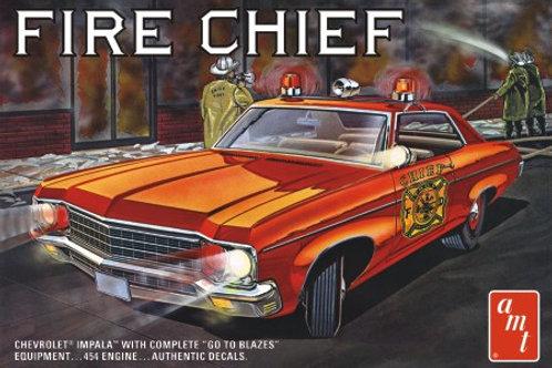 1970 Chevrolet Impala 2 door Fire Chief's car
