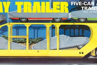 AMT Haulaway 5 Car Transporter Trailer