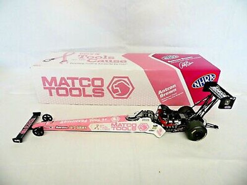 Autoworld 2012 Antron Brown MATCO Tools TF Dragster Diecast