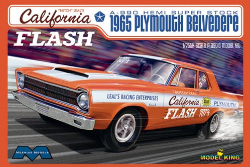 Mobius 1965 Butch Leal's California Flash 1965 Plymouth