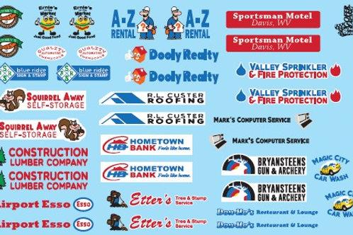 Gofer Racing Home Town Sponsors