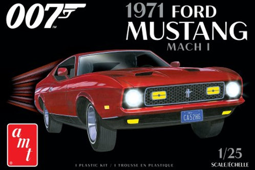 AMT James Bond 1971 Ford Mustang Mach 1