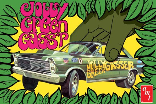 AMT 1965 Ford Galaxie Jolly Green Gasser