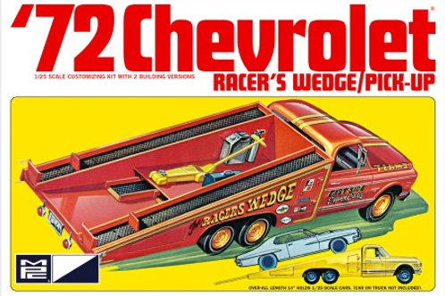 MPC 1972 Chevrolet Racer's Wedge Ramp Truck