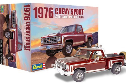 1976 Chevrolet Sport Stepside 4x4 Pickup