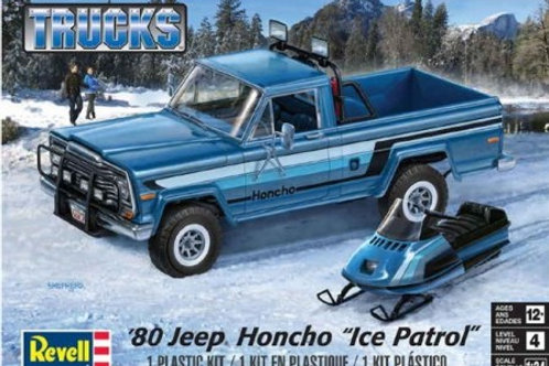 Revell Ice Patrol 1980 Jeep Pickup