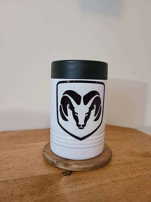 Ram Metal Can Coozie