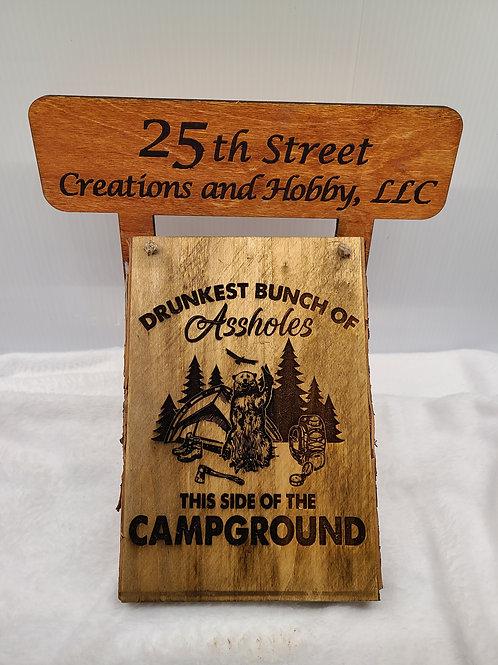 Camp Sign- custom engraved