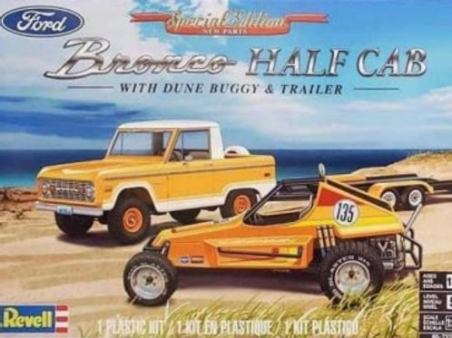 Revell Ford Bronco Half Cab w/ Dune Buggy