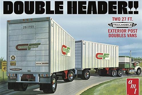 """AMT Fruehauf """"Double Header"""" Tandem Trailers"""