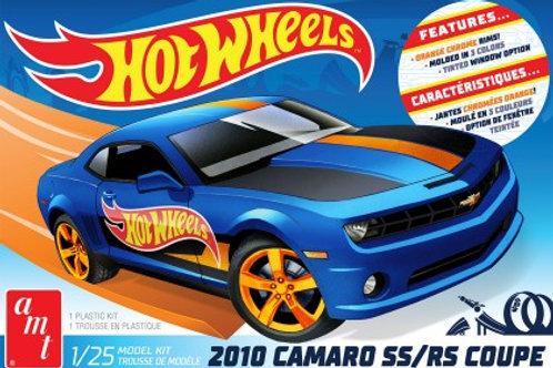 AMT 2010 Camaro SS/RS Hot Wheels Edition