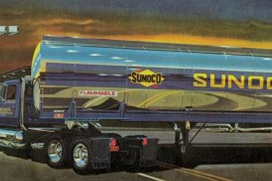 AMT Fruehauf Sunoco Plated Tanker Trailer