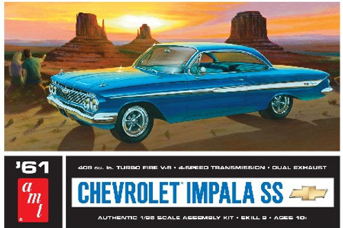AMT 1961 Chevrolet Impala SS