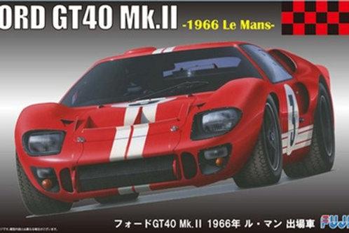 Fujimi Ford GT40 MkII 1966 LeMans Pole Winner