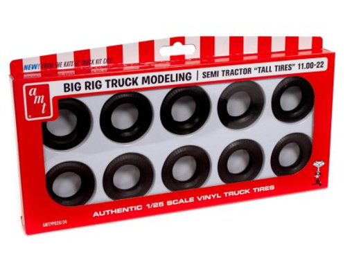 AMT Semi Tractor Truck 11.00-22 Tall Tire Pack