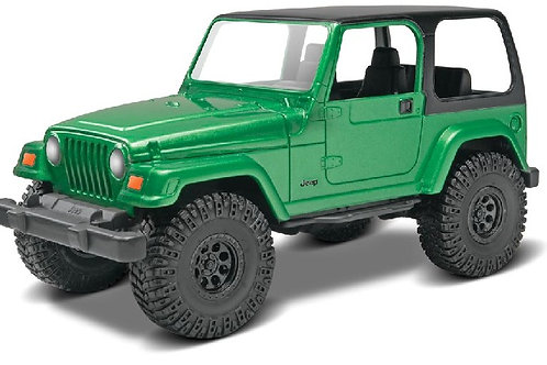 Revell Jeep Wrangler Rubicon Snap kit