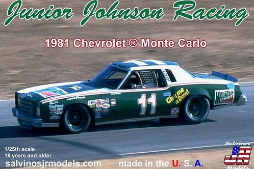 Salvinos JR  1981 Darrell Waltrip Chevy Monte Carlo