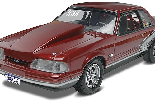 Revell 1990 Ford Mustang LX 5.0 Drag Car