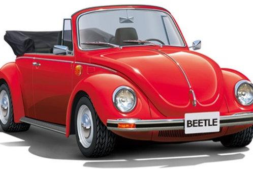 Aoshima 1975 VW Beetle Convertible