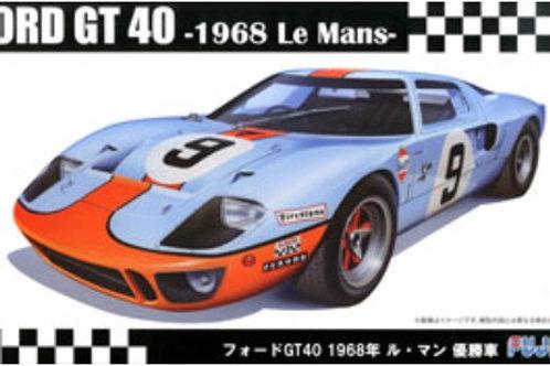 Fujimi Ford GT40 1968 24 Hr of LeMans winner