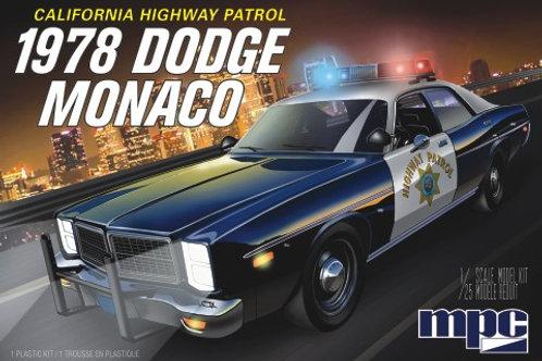 MPC 1978 Dodge Monaco California Highway Patrol Car