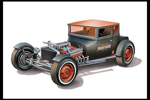 AMT 1925 Ford Model T Chopped Coupe