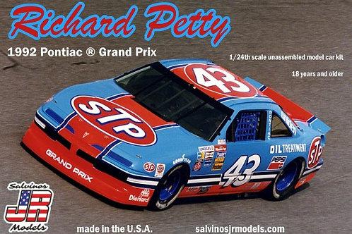 Salvinos Jr Richard Petty last race Pontiac 1992 Grand Prix
