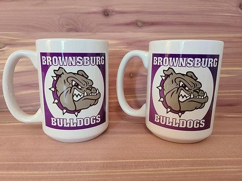 Brownsburg Bulldogs Coffee Mug