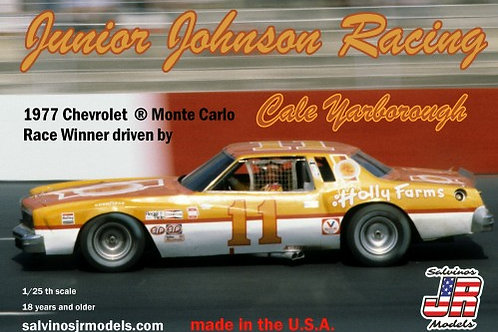 Salvinos Jr Cale Yarborough Holly Farms Monte Carlo