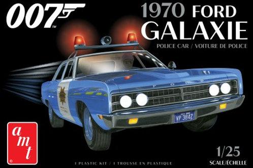 AMT 1970 Ford Galaxie Police Car (James Bond)