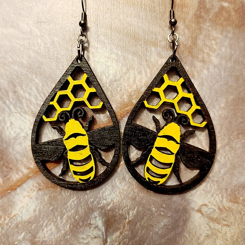 Bee and Honeycomb dangles