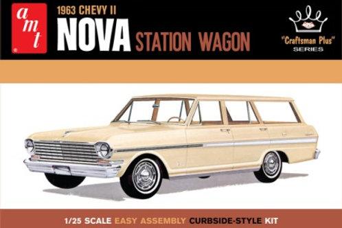 AMT 1963 Chevrolet Nova Station Wagon
