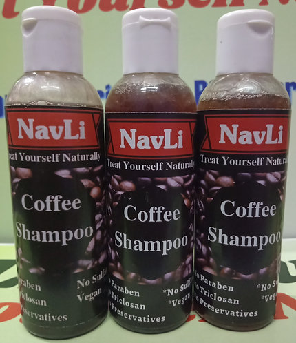 Coffee Shampoo
